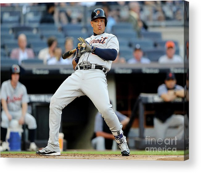People Acrylic Print featuring the photograph Miguel Cabrera by Elsa