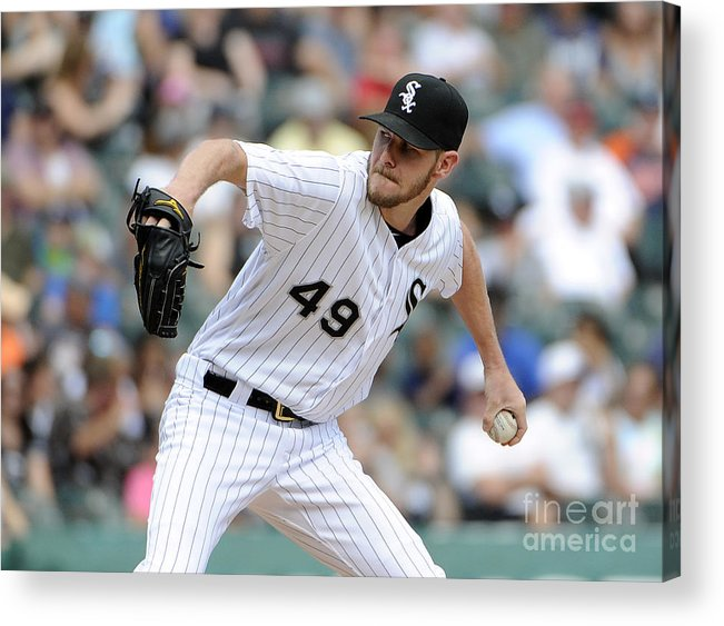 Three Quarter Length Acrylic Print featuring the photograph Chris Sale by David Banks
