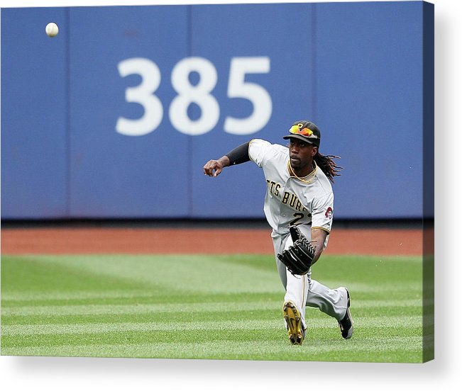 American League Baseball Acrylic Print featuring the photograph Andrew Mccutchen by Alex Trautwig