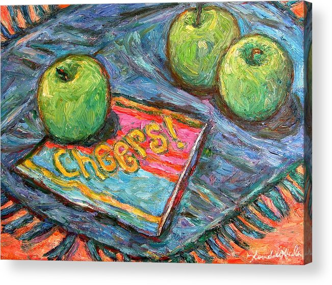 Still Life Acrylic Print featuring the painting Cheers by Kendall Kessler