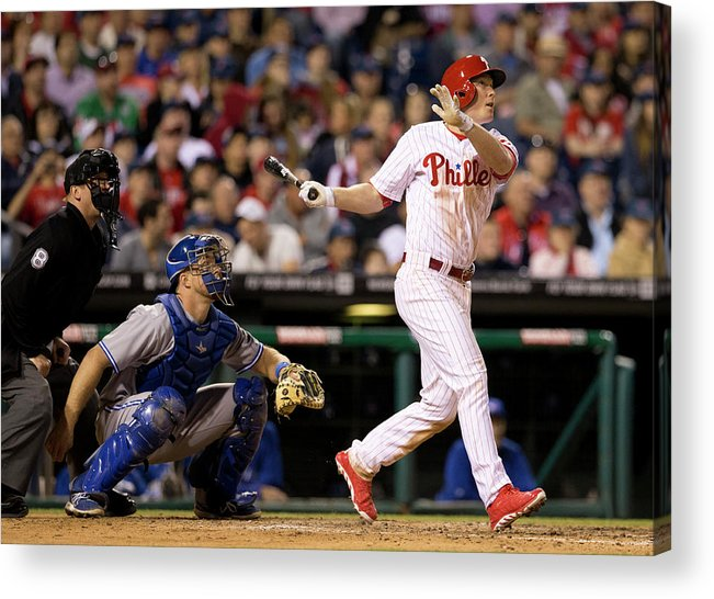 Majestic Acrylic Print featuring the photograph Cody Asche by Mitchell Leff