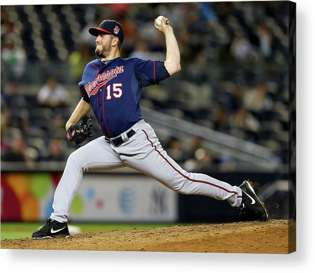 Ninth Inning Acrylic Print featuring the photograph Glen Perkins by Elsa