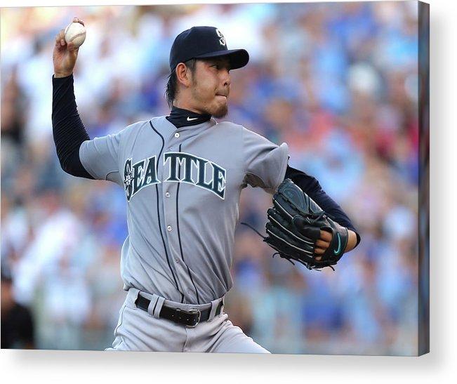 Hisashi Iwakuma Acrylic Print featuring the photograph Hisashi Iwakuma by Ed Zurga