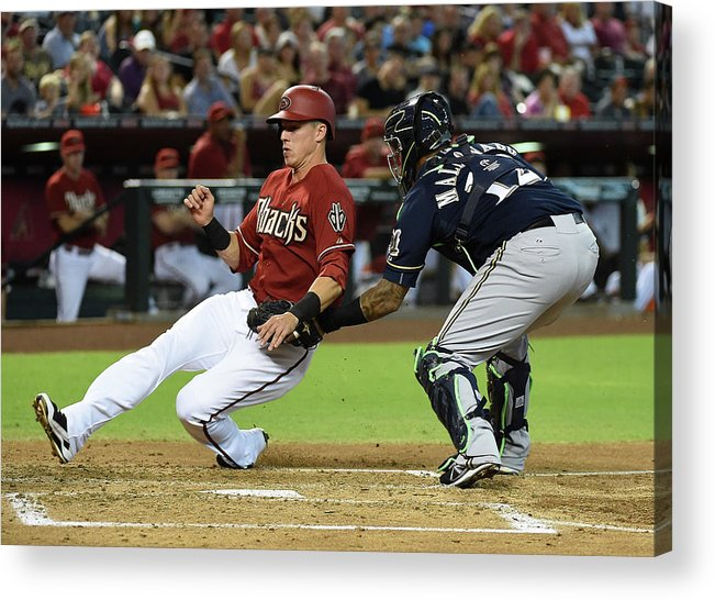 Second Inning Acrylic Print featuring the photograph Jake Lamb by Norm Hall