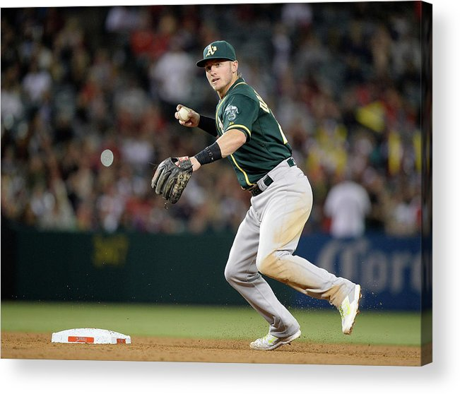 American League Baseball Acrylic Print featuring the photograph Josh Donaldson by Harry How