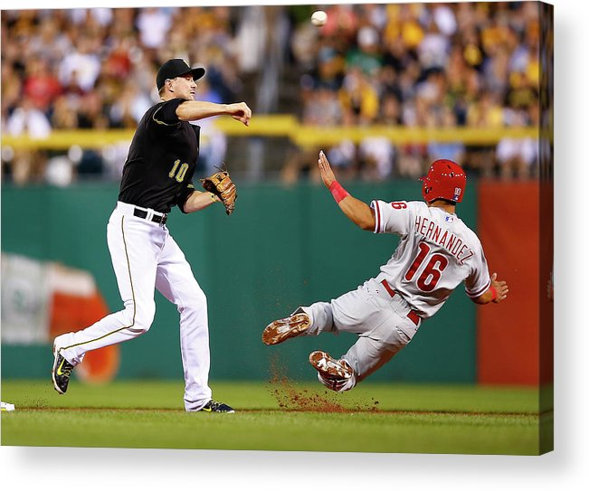 Double Play Acrylic Print featuring the photograph Neil Walker by Jared Wickerham
