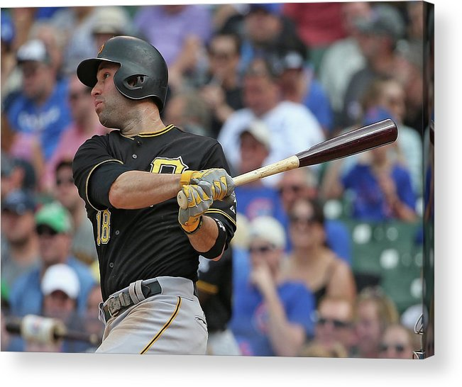 American League Baseball Acrylic Print featuring the photograph Neil Walker by Jonathan Daniel
