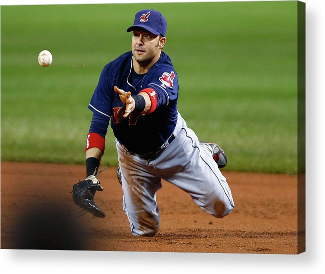 American League Baseball Acrylic Print featuring the photograph Nick Swisher by Jared Wickerham