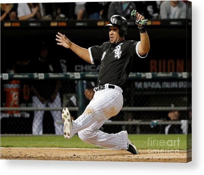People Acrylic Print featuring the photograph Todd Frazier by Jon Durr