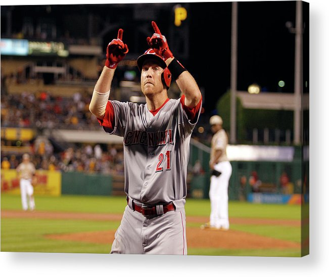 People Acrylic Print featuring the photograph Todd Frazier by Justin K. Aller