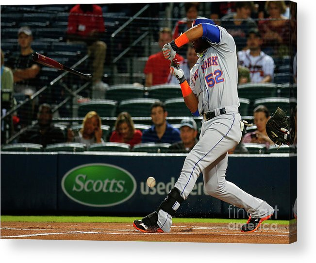 Atlanta Acrylic Print featuring the photograph Yoenis Cespedes by Kevin C. Cox