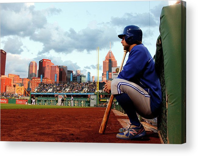 Professional Sport Acrylic Print featuring the photograph Toronto Blue Jays V Pittsburgh Pirates by Justin K. Aller