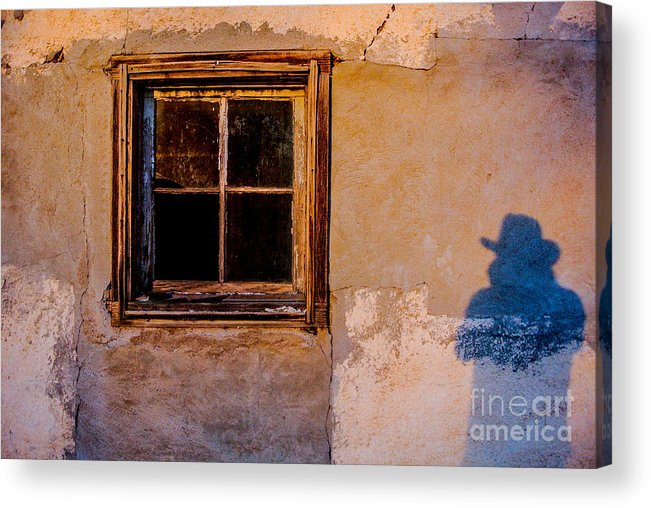 New Mexico Acrylic Print featuring the photograph Shadow by Gib Martinez