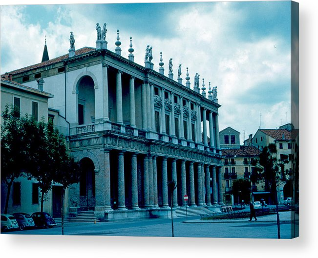 Vicenza Acrylic Print featuring the photograph Vicenza Italy 4 1962 by Cumberland Warden