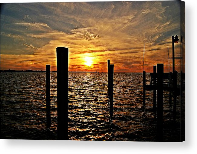 Sunset Acrylic Print featuring the photograph Sunset X by Joe Faherty