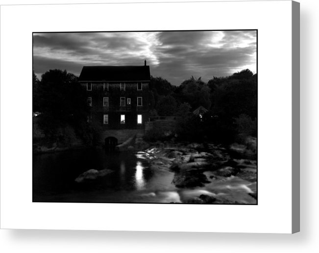 Landscape Acrylic Print featuring the photograph Old Mill by Filipe N Marques