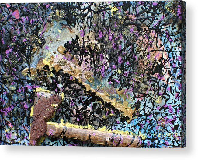 Acrylic Print featuring the painting Accetta caduta by Biagio Civale