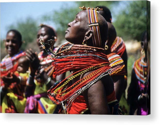 Africa Acrylic Print featuring the photograph African Rhythm by Michele Burgess
