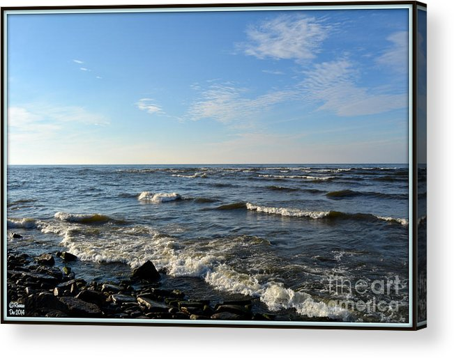 Landscape Acrylic Print featuring the photograph Along Lake Ontario by Rennae Christman