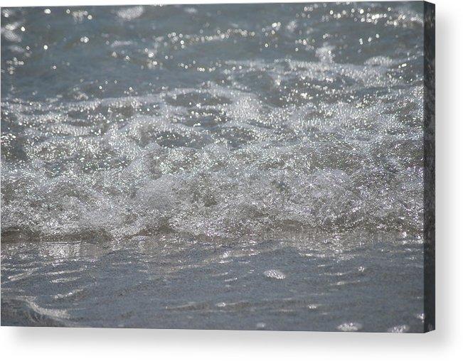 Florida Acrylic Print featuring the photograph Beach Surf by Lisa Gabrius