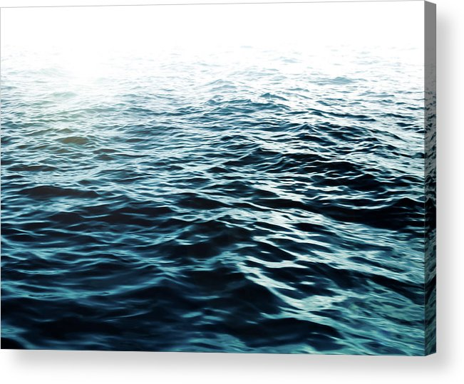 Sea Acrylic Print featuring the photograph Blue Sea by Nicklas Gustafsson