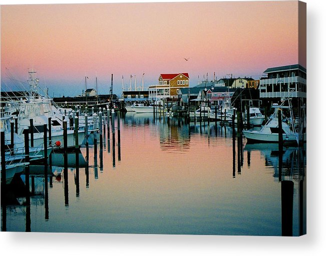 Cape May Acrylic Print featuring the photograph Cape May after Glow by Steve Karol