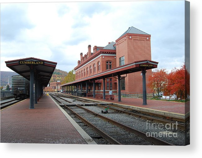Historic Acrylic Print featuring the photograph Cumberland City station by Eric Liller