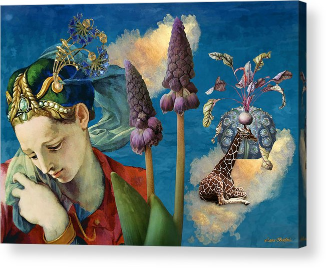Dreamscape Acrylic Print featuring the digital art Day Dreams by Laura Botsford