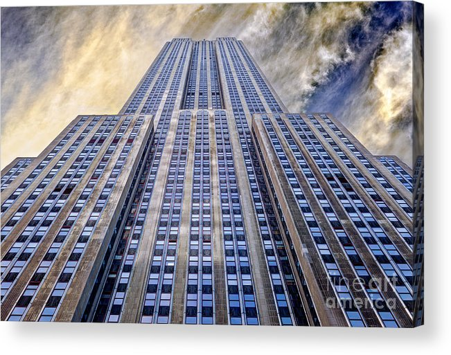 Empire State Building Acrylic Print featuring the photograph Empire State Building by John Farnan