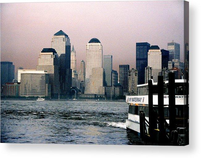 New York Acrylic Print featuring the photograph Empty Sky by Steve Karol