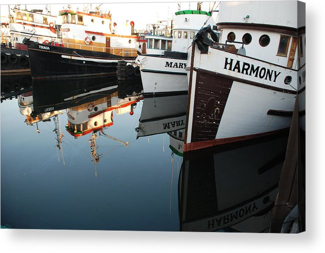 Fishing Acrylic Print featuring the photograph Harmony by Alasdair Turner