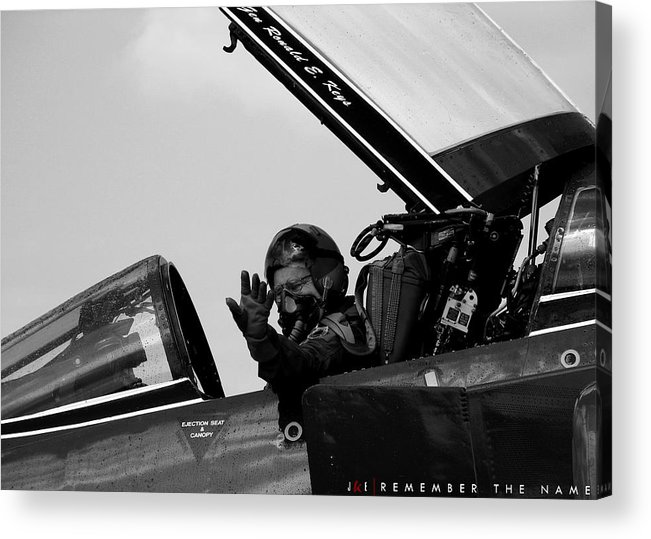 47images Acrylic Print featuring the photograph Remember the Name by Jonathan Ellis Keys