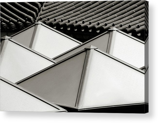 Roof Acrylic Print featuring the photograph Roof Top by Klaus Bohn