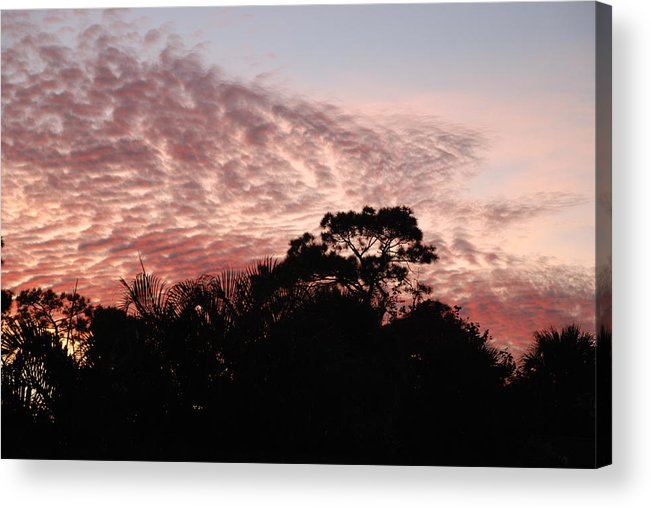 Sky Acrylic Print featuring the photograph Thanksgiving Sky by Rob Hans