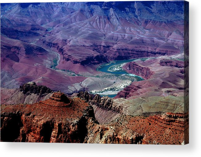 Photography Acrylic Print featuring the photograph The Grand Canyon by Susanne Van Hulst