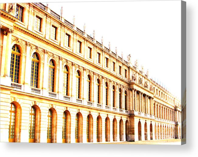 Versailles Acrylic Print featuring the photograph The Palace by Amanda Barcon