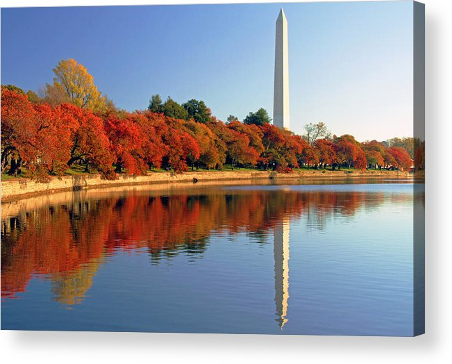 Autumn Acrylic Print featuring the photograph Watch the Leaves Turn by Mitch Cat