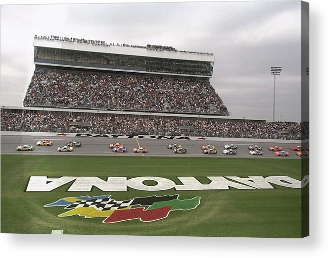 Sport Acrylic Print featuring the photograph Daytona 500 by David Taylor