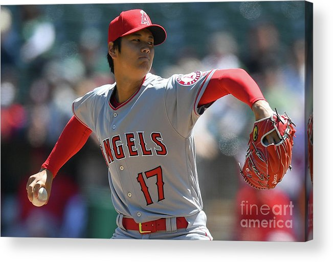 People Acrylic Print featuring the photograph Los Angeles Angels Of Anaheim V by Thearon W. Henderson