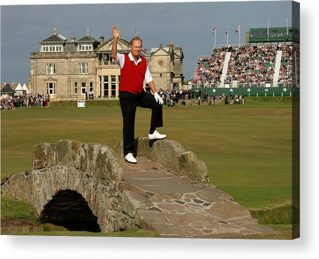 Crowd Acrylic Print featuring the photograph 134th Open Championships by David Cannon