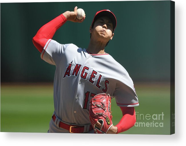 Second Inning Acrylic Print featuring the photograph Los Angeles Angels Of Anaheim V by Thearon W. Henderson