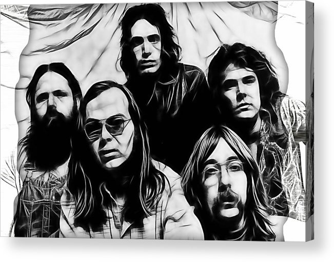 Steely Dan Acrylic Print featuring the mixed media Steely Dan Collection by Marvin Blaine
