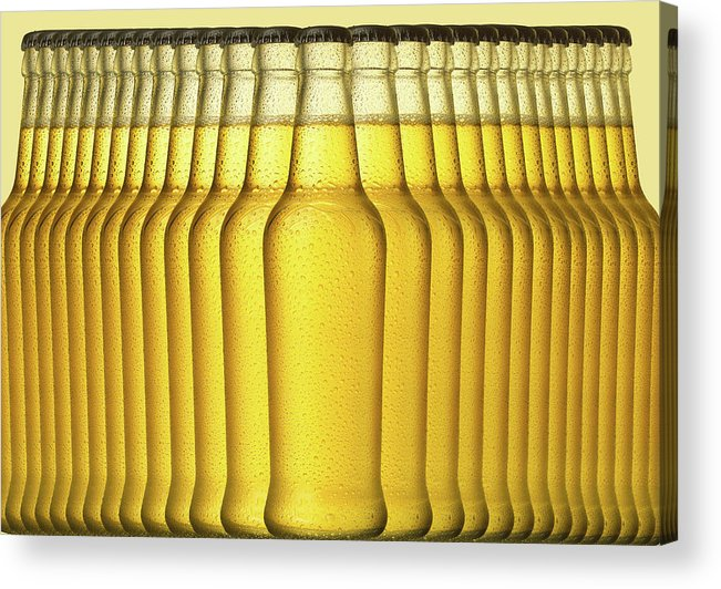 Alcohol Acrylic Print featuring the photograph Beer by Jeremy Hudson