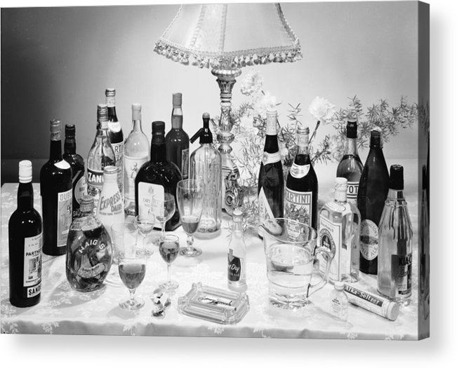 Milk Acrylic Print featuring the photograph Christmas Drinks by Chaloner Woods