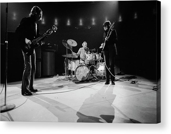 Music Acrylic Print featuring the photograph Cream At Madison Square Garden by Michael Ochs Archives