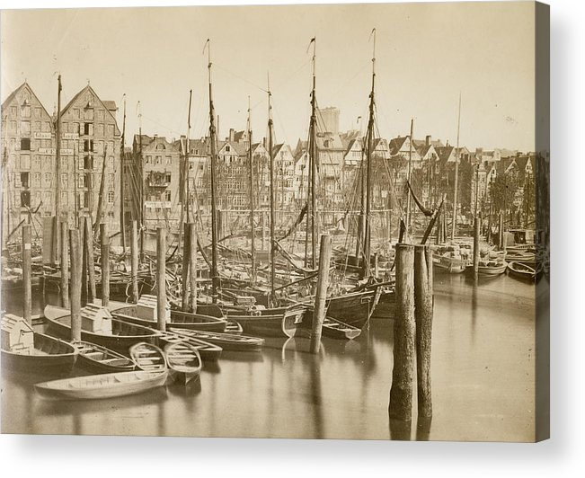 1880-1889 Acrylic Print featuring the photograph German Harbour by Hulton Archive