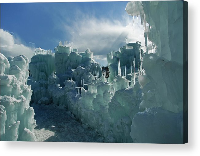 Iceberg Acrylic Print featuring the photograph Ice Castle by Robin Wilson Photography