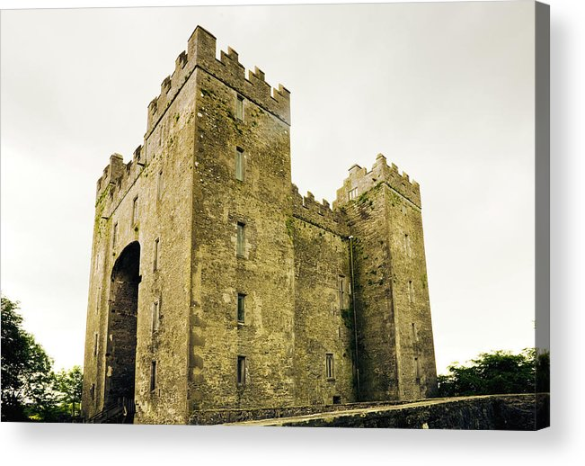 Bunratty Castle Acrylic Print featuring the photograph Ireland Bunratty Castle In County by Alantobey