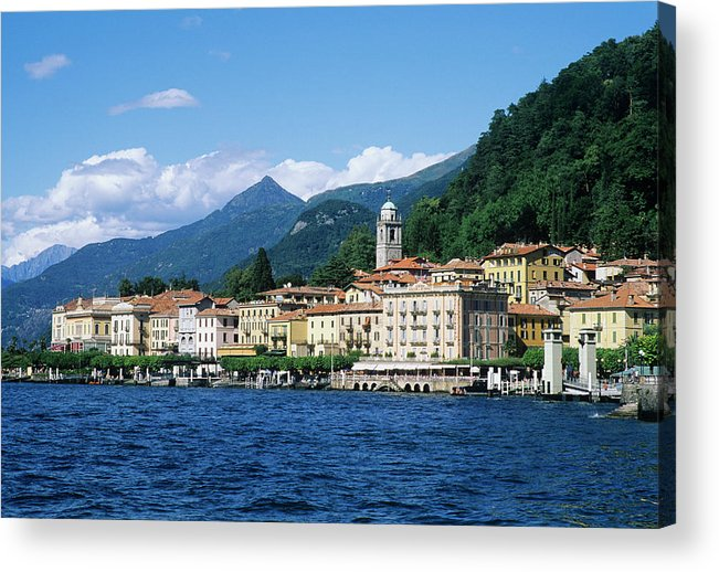 Scenics Acrylic Print featuring the photograph Italy, Lombardy, Bellagio by Vincenzo Lombardo