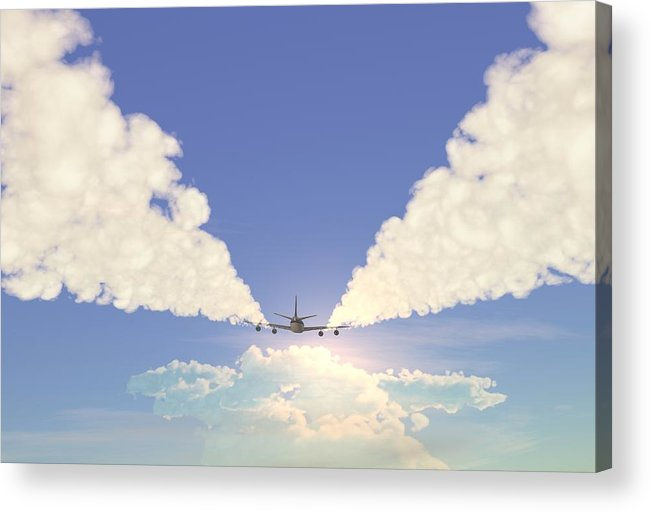 Engine Acrylic Print featuring the photograph Jet by Pobytov